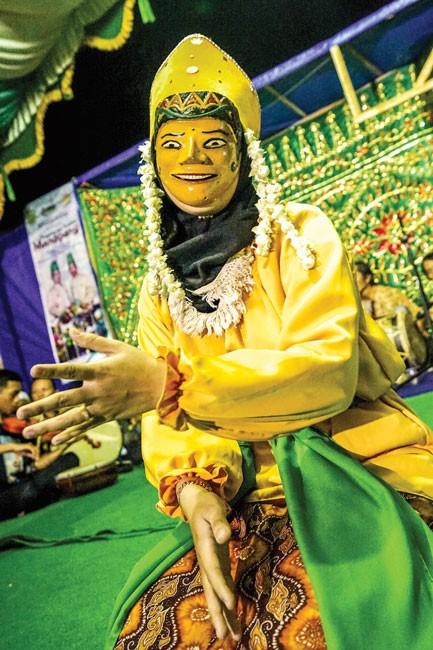 Tâm linh lễ hội Manopeng ảnh 3