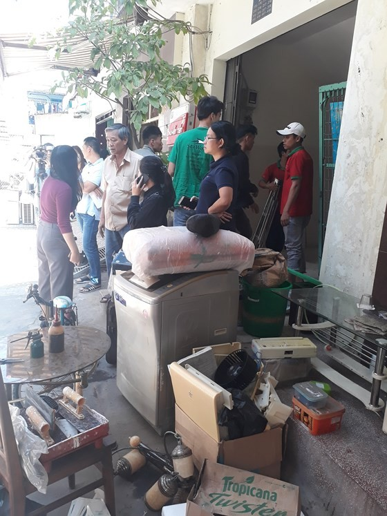 Chung cư bị nghiêng, TPHCM di dời khẩn cấp 38 hộ dân ảnh 3
