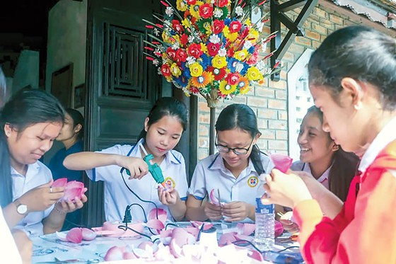 Hoa giấy Thanh Tiên góp hương xuân ảnh 3
