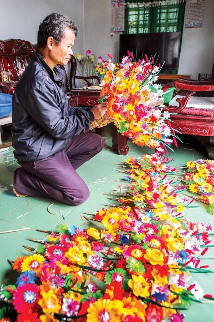 Hoa giấy Thanh Tiên góp hương xuân ảnh 7