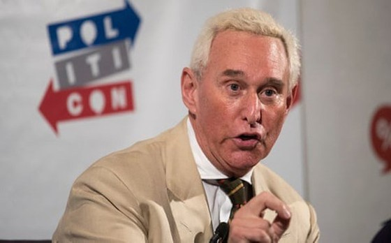 Cựu cố vấn đồng thời là đồng minh của Tổng thống Mỹ Donald Trump, Roger Stone (ảnh) đã bị bắt. Ảnh: theguardian.com