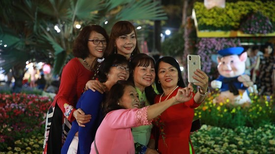 Khai mạc hội Hoa Xuân TPHCM Tết Kỷ Hợi năm 2019 ảnh 3