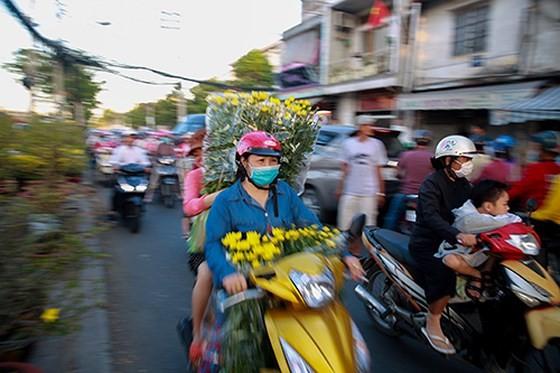 Chợ hoa xuân trên bến dưới thuyền… ảnh 10