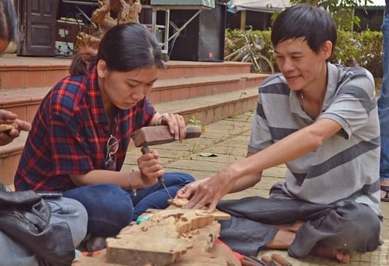 Sôi động giỗ Tổ nghề mộc Kim Bồng ảnh 5