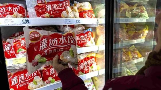 Sản phẩm há cảo đông lạnh của Sanquan Food. Ảnh: The Standard