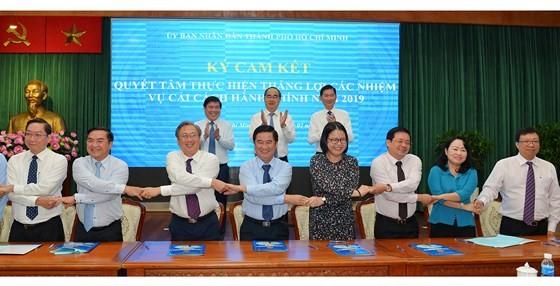 Bí thư Thành ủy TPHCM Nguyễn Thiện Nhân: Triệt để, đồng bộ và tăng tốc cải cách hành chính ảnh 7