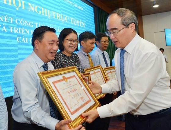 Bí thư Thành ủy TPHCM Nguyễn Thiện Nhân: Triệt để, đồng bộ và tăng tốc cải cách hành chính ảnh 4