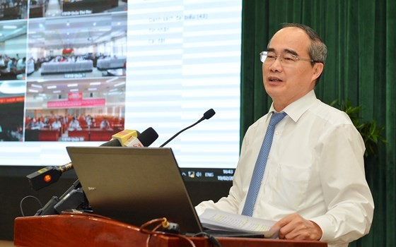 Bí thư Thành ủy TPHCM Nguyễn Thiện Nhân: Triệt để, đồng bộ và tăng tốc cải cách hành chính ảnh 3