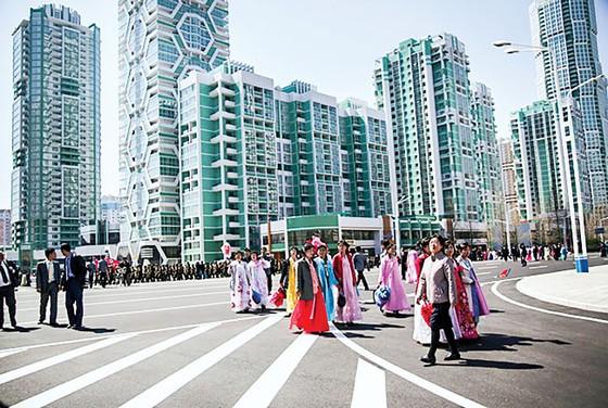 Chờ đợi kinh tế Triều Tiên cất cánh ảnh 1