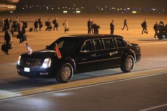 Tổng thống Mỹ Donald Trump đã đến Hà Nội ảnh 11