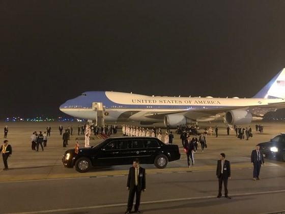 Tổng thống Mỹ Donald Trump đã đến Hà Nội ảnh 12