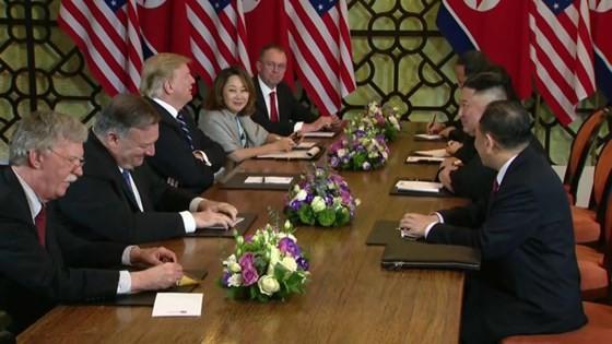Hội nghị Thượng đỉnh Mỹ - Triều Tiên lần 2: Tổng thống Mỹ cho biết khúc mắc ở vấn đề trừng phạt ảnh 8