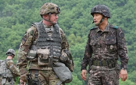 Quân nhân Mỹ và Hàn Quốc. Ảnh: Army.