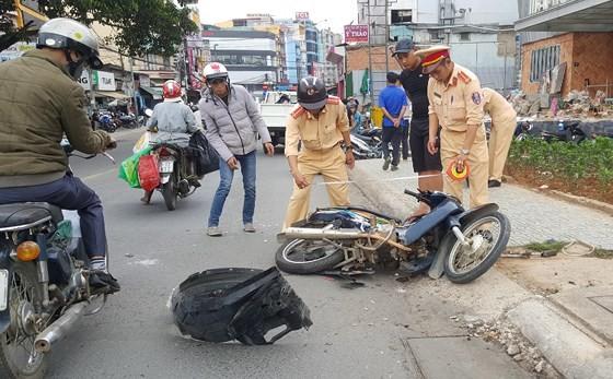 Nam thanh niên gây tai nạn liên hoàn ở Đà Lạt dương tính với chất ma tuý ảnh 2