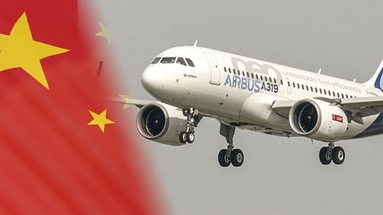 Trung Quốc ký hợp đồng mua 300 chiếc Airbus nhân chuyến thăm của Chủ tịch Tập Cận Bình tới Pháp. Ảnh: New Daily