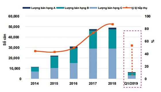 Quý I-2019: Nguồn cung  căn hộ giảm mạnh ảnh 1