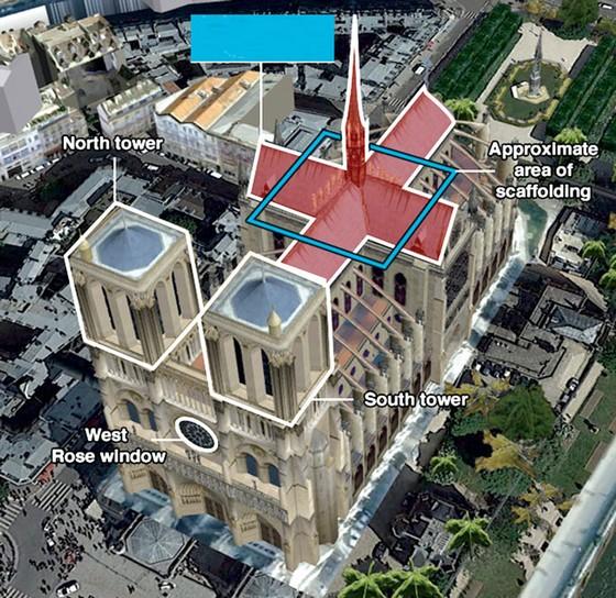 Nhà thờ Đức Bà Paris cháy: Cần 10-20 năm phục dựng ảnh 4