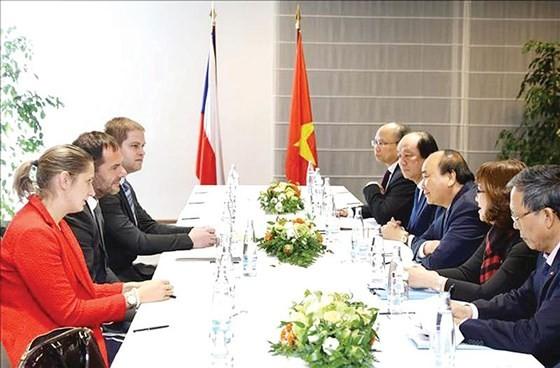 Thủ tướng Nguyễn Xuân Phúc thăm Cộng hòa Czech ảnh 1