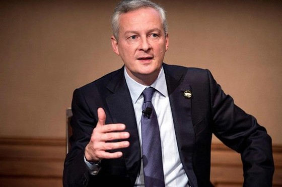 Bộ trưởng Tài chính Pháp Bruno Le Maire. (Nguồn: Wall Street Journal)