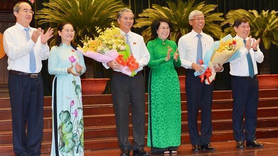 Ông Võ Văn Hoan và ông Ngô Minh Châu làm Phó Chủ tịch UBND TPHCM ảnh 3