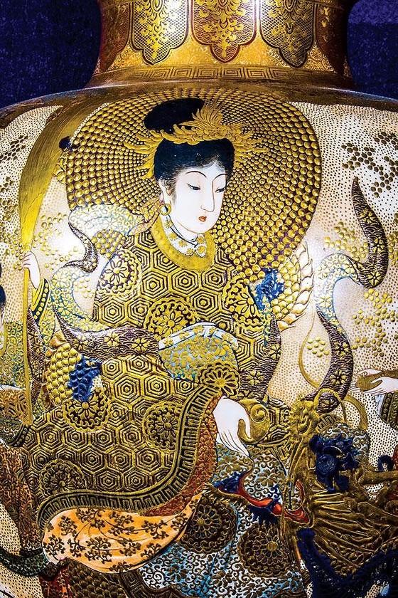 Ánh Đạo Vàng trên gốm cổ Nhật Bản ảnh 6