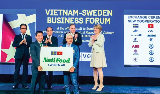 NutiFood Company goes global ảnh 1