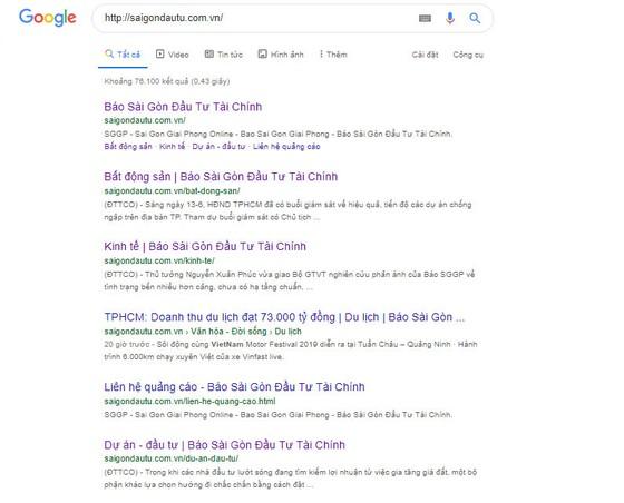 Báo chí thời Google ảnh 1