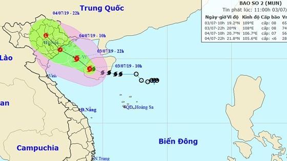 Bão số 2 gây mưa to đến rất to, cảnh báo lũ, lũ quét, sạt lở đất tại Bắc Bộ và Trung Bộ ảnh 1
