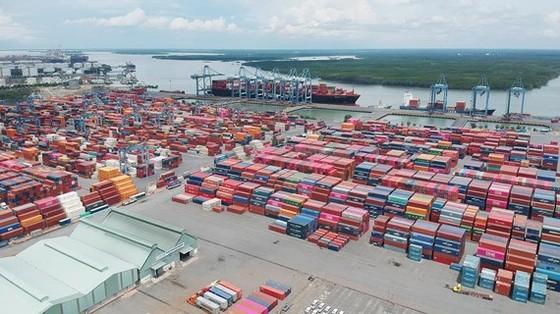 Cảng Tân Cảng - Cái Mép Thị Vải. Ảnh: CAO THĂNG
