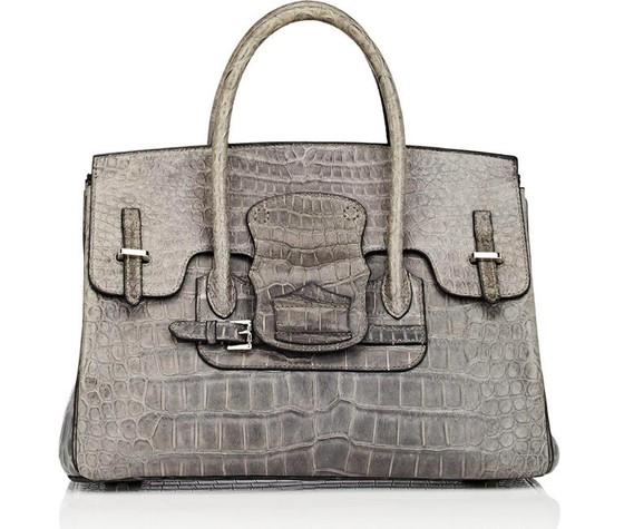 Túi da cá sấu đắt giá ảnh 3