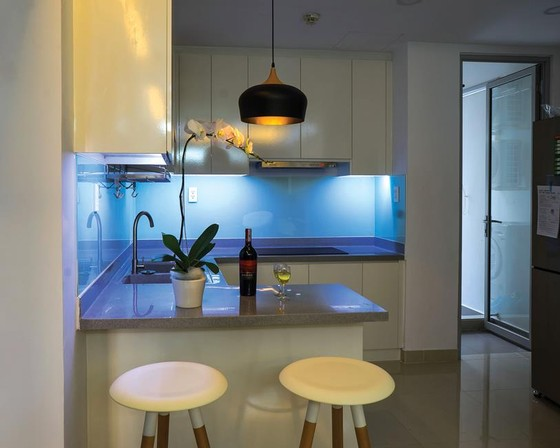 Không gian bếp tối giản ảnh 5