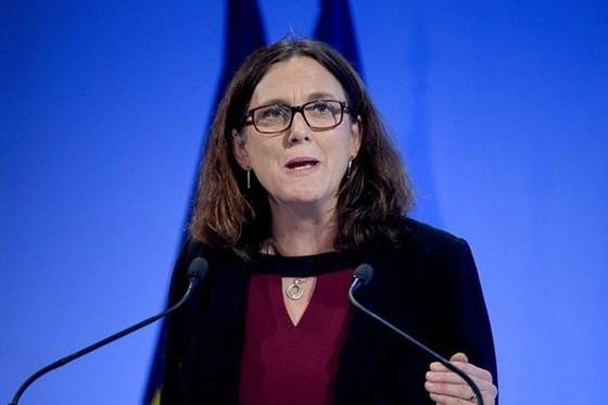 Ủy viên Thương mại EU Cecilia Malmstrom
