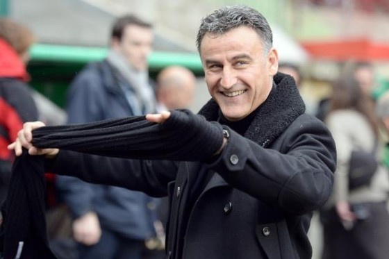 HLV Christophe Galtier. Ành: Getty Images.