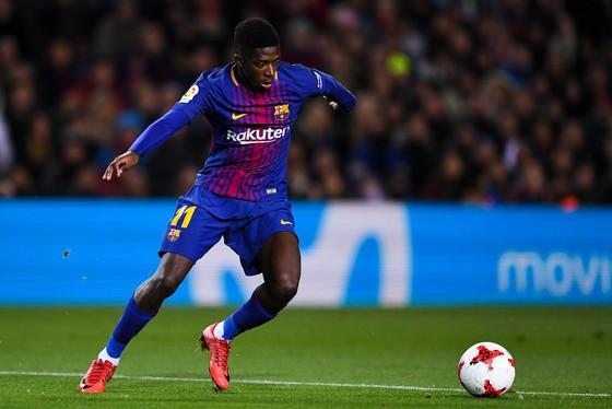 Tiền đạo Barcelona Ousmane Dembele. Ãnh: Getty Images.