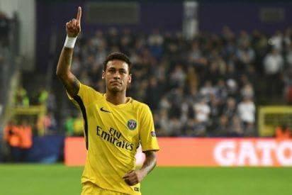 Neymar tiếp tục thể hiện phong độ ấn tượng trong màu áo PSG. Anh: Getty Images.