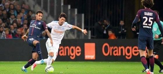 Trận Marseille hòa PSG 2-2 ở lượt đi.