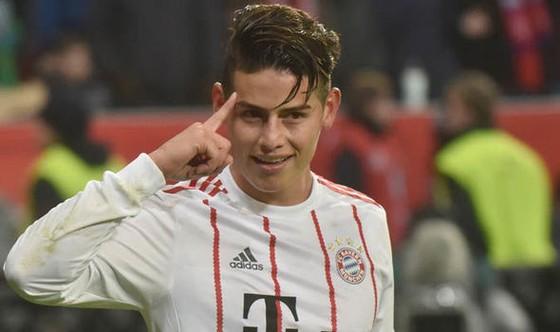 James Rodriguez đang tỏa sáng ở Bayern Munich.
