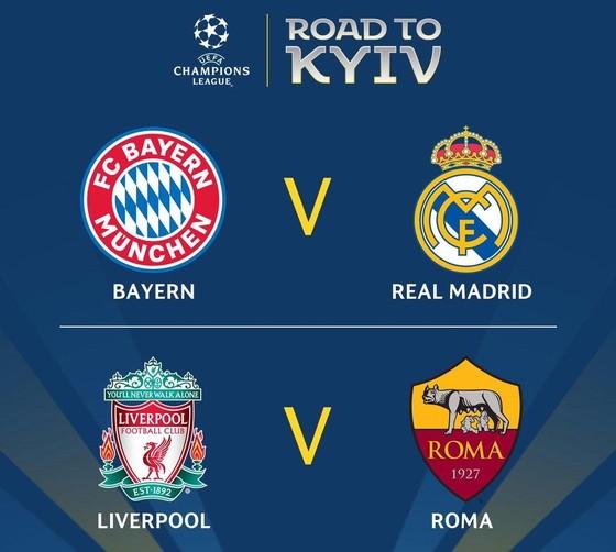 Real Madrid đụng độ Hùm xám Bayern ở bán kết ảnh 1