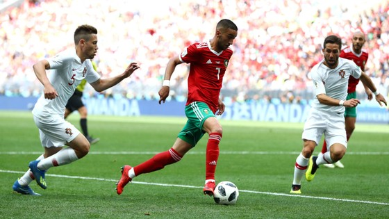 Bồ Đào Nha - Morocco 1-0, Ronaldo ghi bàn trong chiến thắng gây tranh cãi ảnh 4