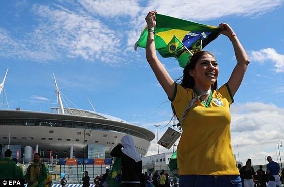 Trực tiếp: Brazil - Costa Rica 0-0,  trước giờ xung trận ảnh 1