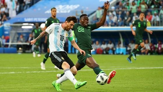 Messi tỏa sáng.với bàn thắng