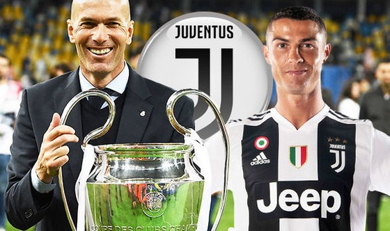Zidane sẽ gia nhập Juventus cùng Ronaldo ảnh 1