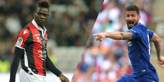 Marseille muốn có cặp song sát Balotelli và Giroud