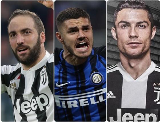 Higuain sẽ thắng Ronaldo và Icardi để giành giải Vua phá lưới Serie A