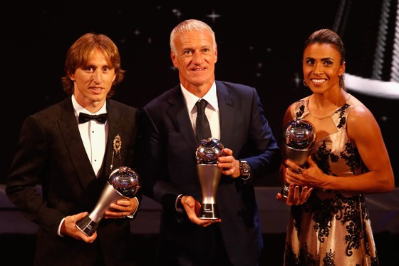 Luka Modric và Marta đoạt giải FIFA The Best 2018