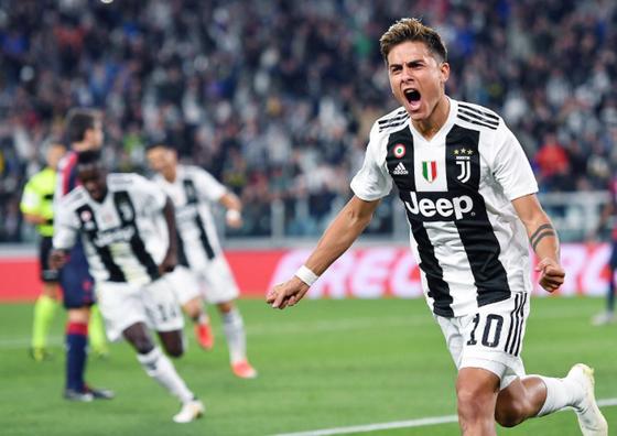 Paulo Dybala sẽ thống l;ĩnh tuyến tấn công Juventus.