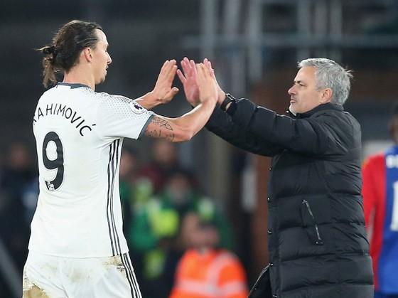 Jose Mourinho và Zlatan Ibrahimovic