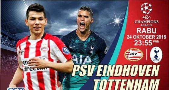Lorenzo (PSV) và Eric Lamela (Tottenham)