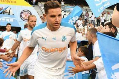 Tiền vệ Florian Thauvin của Marseille.