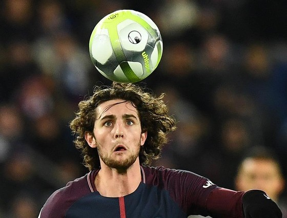 Adrien Rabiot trong màu áo PSG